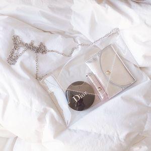 Handbags - Roselie Clear Clutch Bag